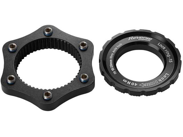 Reverse Centerlock Adapter, black